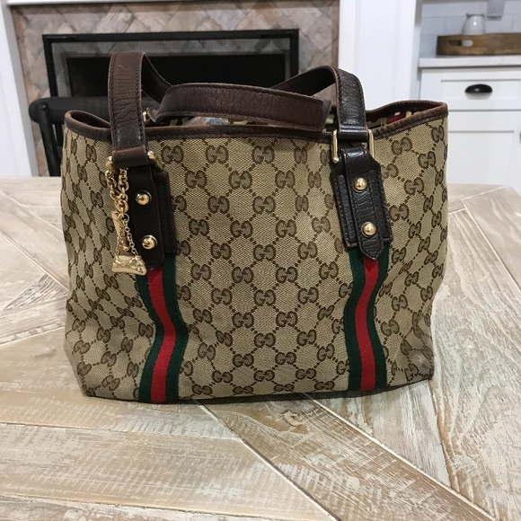 1dfb096061ce Gucci Bags | Gg Canvas Jolicoeur Tote Bag | Poshmark